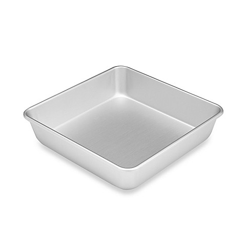 Wilton 174 Performance 8 Inch X 2 Inch Square Cake Pan Bed