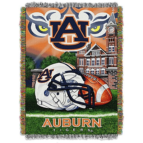 Auburn University Tapestry Throw Blanket Bed Bath Amp Beyond
