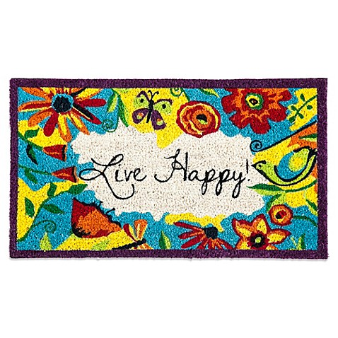 Buy Live Happy Coir Door Mat Insert From Bed Bath Amp Beyond