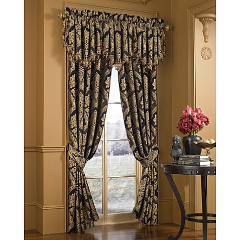 Buy J Queen New York Majestic 84 Window Curtain Panel Pair From Bed Bath Beyond