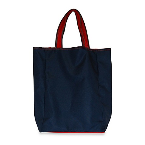 Blue Avocado Foldable Wallet Tote By Ross Bennett Bed