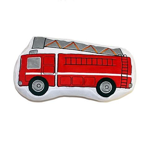 Teyos Tires Fire Truck Pillow Bedbathandbeyond Com