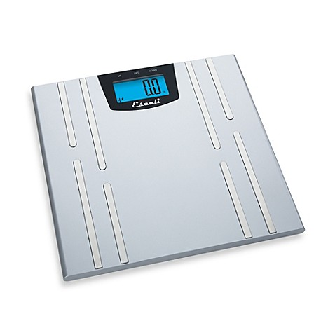 Buy Escali Body Fat Water Muscle Mass Bathroom Scale From Bed Bath Beyond