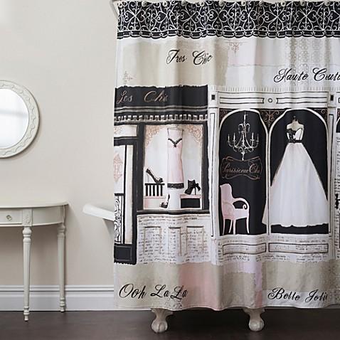 Parisienne Chic Shower Curtain Bedbathandbeyond Com
