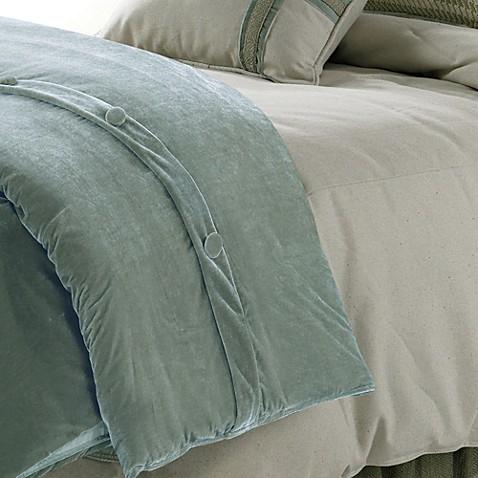 Hiend Accents Arlington Velvet Duvet Cover Set Bed Bath