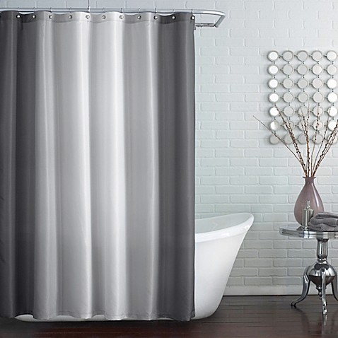Buy Blaire Shower Curtain In Grey From Bed Bath Amp Beyond