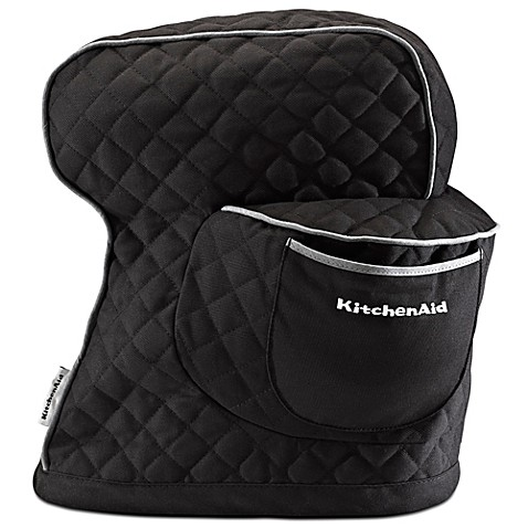 Buy Kitchenaid 174 Fitted Cloth Cover For Kitchenaid 174 Tilt Head Stand Mixers In Onyx Black From Bed
