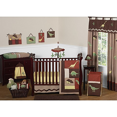 Buy Sweet Jojo Designs Dinosaur Land 11-Piece Crib Bedding ...