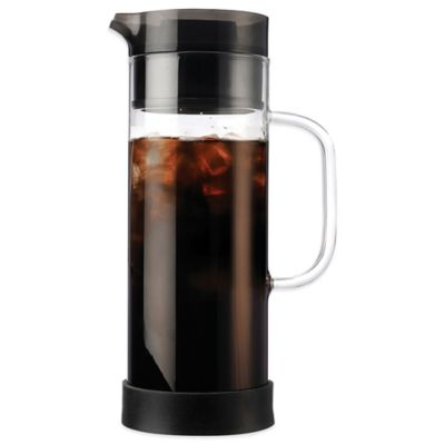 Single Coffee Maker Bed Bath And Beyond : Buy Primula 50 oz. Cold Brew Iced Coffee Maker from Bed Bath & Beyond