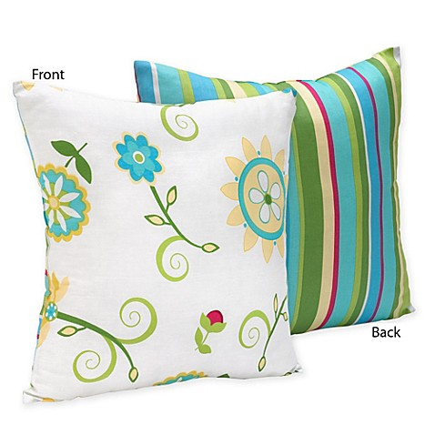 Decorative Pillows For Crib : Sweet Jojo Designs Layla Crib Bedding Collection > Sweet Jojo Designs Layla Reversible ...