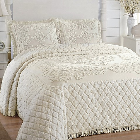 Josephine Bedspread In Ivory Bed Bath Amp Beyond