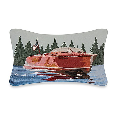 Motorboat Tapestry Throw Pillow - Bed Bath & Beyond