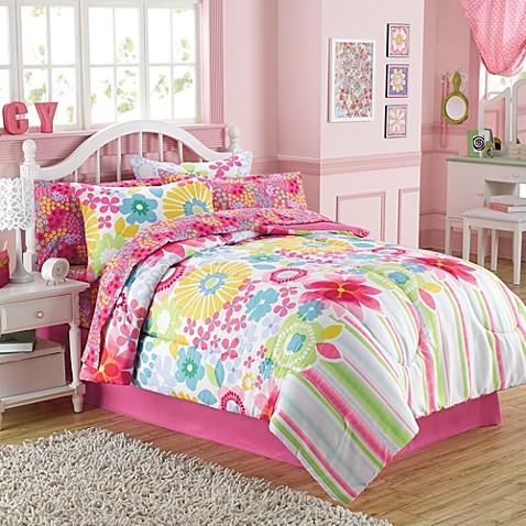 Buy Bouquet 6 Piece Twin Comforter And Sheet Set From Bed