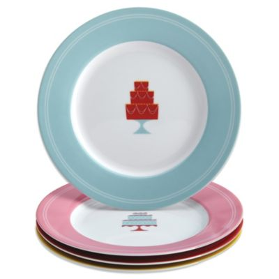 Cake Decorating Kit Bed Bath Beyond : Cake Boss Mini Cakes Dessert Plate Set (Set of 4) - Bed ...