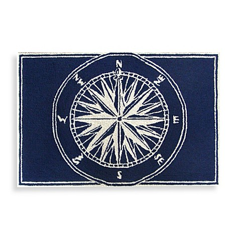 Trans Ocean Compass Front Porch Accent Rug Bed Bath Amp Beyond