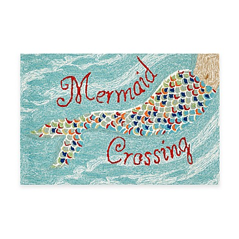 Frontporch Mermaid Crossing Accent Rug Bed Bath Amp Beyond