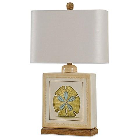 Coastal Sand Dollar Ceramic Table Lamp Bed Bath Amp Beyond