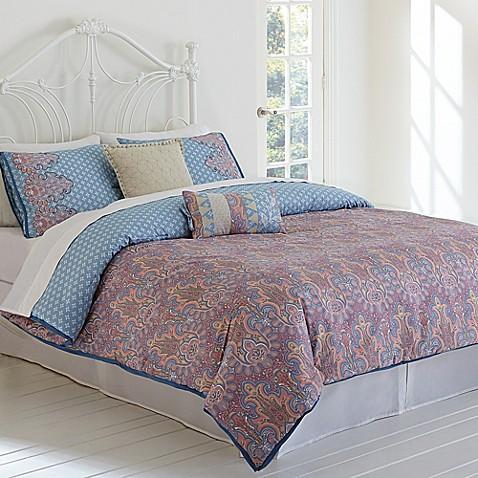 Jessica Simpson Elise Paisley Comforter Set