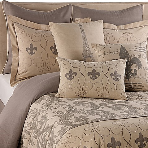 Fleur De Lis Comforter Set Bed Bath Amp Beyond