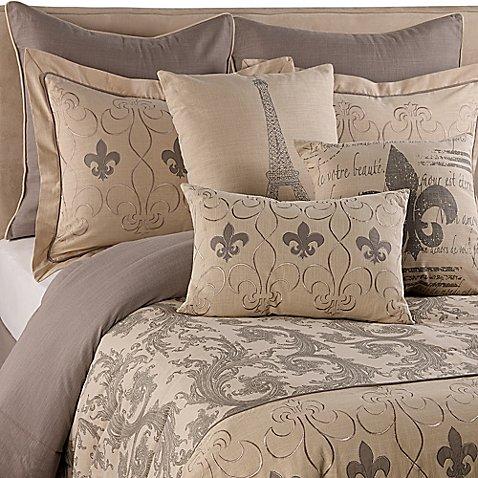 Fleur de lis comforter set bed bath beyond - Fleur de lis bed sheets ...