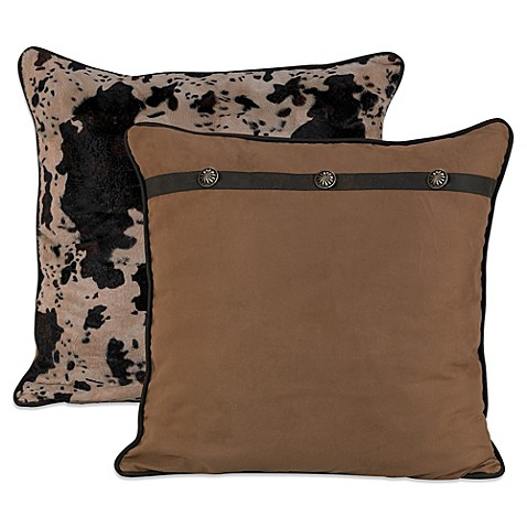 HiEnd Accents Caldwell Reversible European Pillow Sham at Bed Bath & Beyond in Cypress, TX | Tuggl