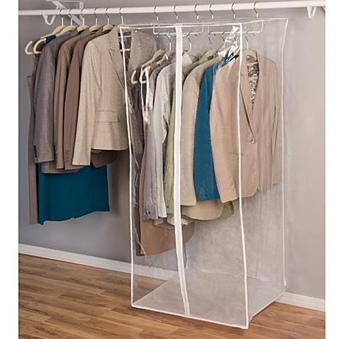 Closetware Clear Jumbo Dress Bag Bed Bath Amp Beyond