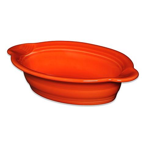 Fiesta 174 Oval Individual Casserole Dish In Poppy Bed Bath