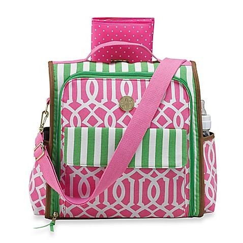 buy mud pie bundle of joy diaper bag in pink from bed. Black Bedroom Furniture Sets. Home Design Ideas