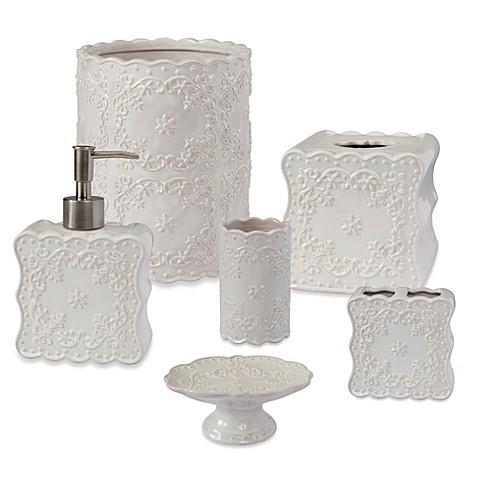 creative bath ruffles bath collection bed bath beyond. Black Bedroom Furniture Sets. Home Design Ideas