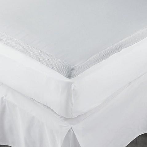 Therapedic 2 Inch Memory Foam Mattress Topper Bed Bath