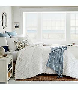 Set de edredón matrimonial/queen de algodón Bee & Willow™ Home color blanco, 3 piezas