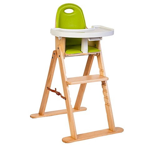 svan baby to booster high chair in natural lime buybuy baby. Black Bedroom Furniture Sets. Home Design Ideas