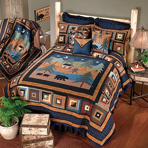 Donna Sharp Midnight Bear Quilt Bed Bath Amp Beyond