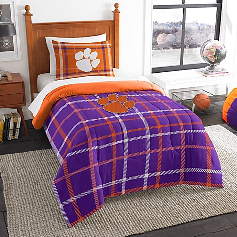 Ncaa Clemson University Bedding Set