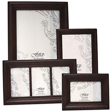 Http Www Bedbathandbeyond Com Store Product Fetco Home Decor Wood Photo Frames In Espresso 3252444