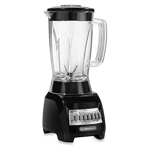 Hamilton Beach 174 10 Speed Blender With 48 Oz Plastic Jar