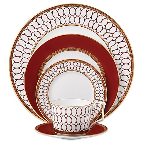 Wedgwood 174 Renaissance Red Dinnerware Collection Bed Bath
