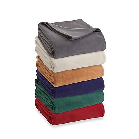 vellux fleece blanket bed bath beyond