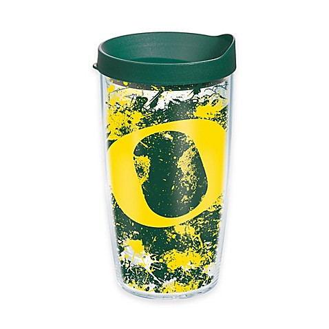 Tervis 174 University Of Oregon Ducks Splatter Wrap Tumbler