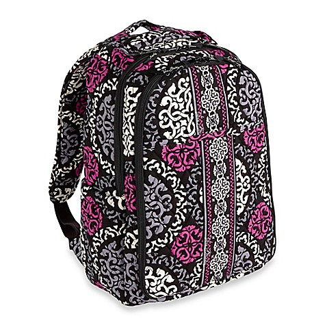 vera bradley baby changing backpack in magenta. Black Bedroom Furniture Sets. Home Design Ideas