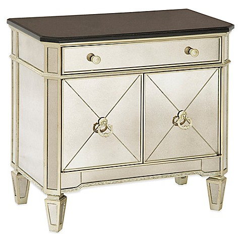 Buy Bassett Mirror Company Borghese Small Mirrored Chest