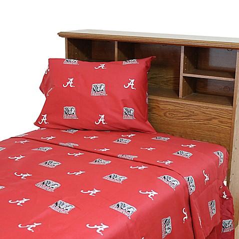 University Of Alabama Sheet Set Bed Bath Amp Beyond