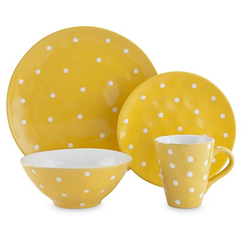 Maxwell & Williams™ Sprinkle Dinnerware Collection in Yellow at Bed Bath & Beyond in Cypress, TX   Tuggl