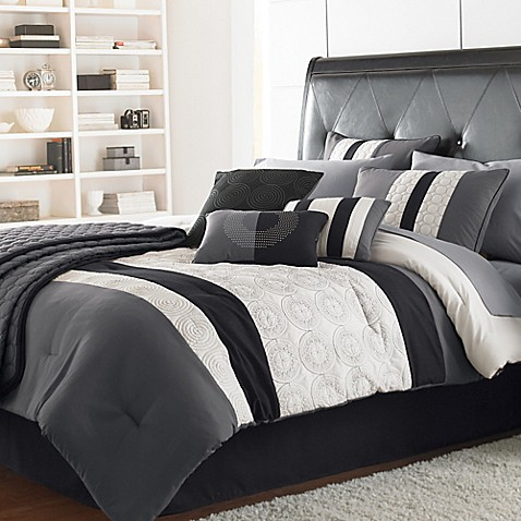 elsie comforter set bed bath beyond. Black Bedroom Furniture Sets. Home Design Ideas