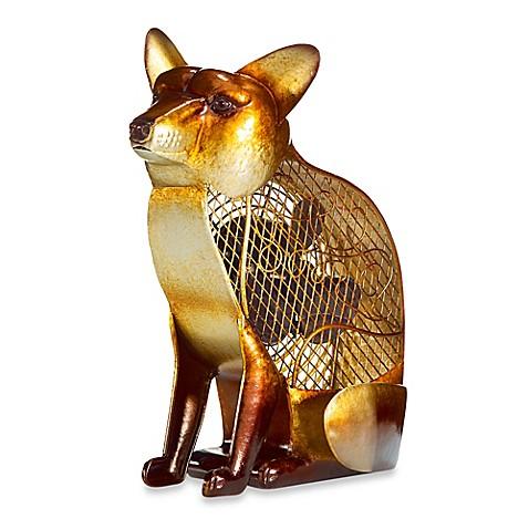 deco breeze fox figurine table fan. Black Bedroom Furniture Sets. Home Design Ideas