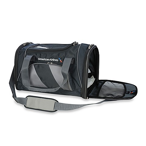 American Airlines Medium Duffle Dog Carrier Bag Bed Bath