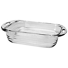 Anchor Hocking 174 Baked By Fire King 1 5 Qt Loaf Dish