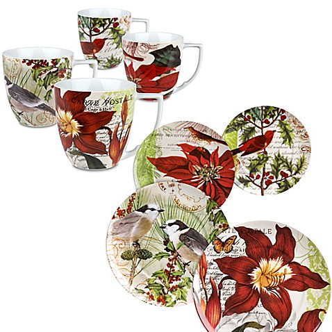 Waechtersbach Accents Traditions Assorted Plates And Mugs