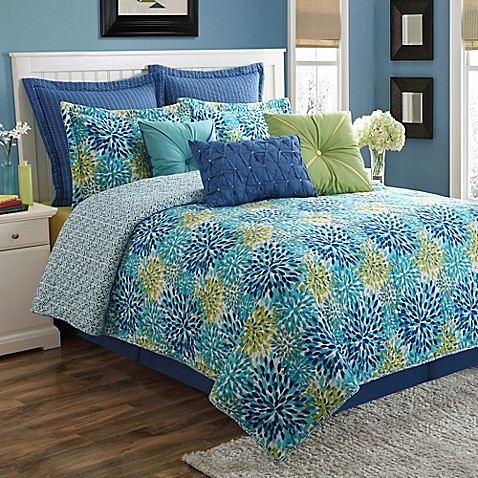 Fiesta 174 Calypso Reversible Comforter Set Bed Bath Amp Beyond