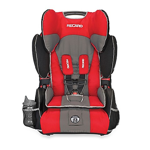 recaro performance sport booster car seat in chili bed bath beyond. Black Bedroom Furniture Sets. Home Design Ideas